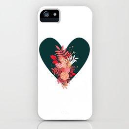 Feelings (Green) iPhone Case