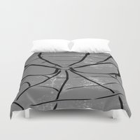 spider man Duvet Covers featuring Spider-Man by Isaak_Rodriguez