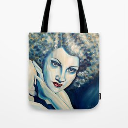 Ice lady Tote Bag