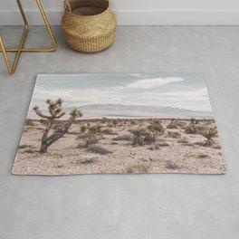 Vintage Desert Hombre // Cactus Cowboy Mojave Landscape Photograph Sunshine Hippie Mountain Decor Rug