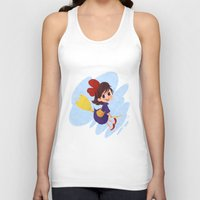 kiki Tank Tops featuring kiki delivery service by Ponchoart