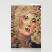 klimt Stationery Cards featuring klimt by Galvanise The Dog