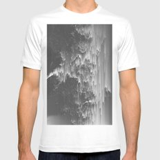 ACETONE White MEDIUM Mens Fitted Tee
