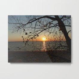 Spring Sunset Metal Print