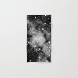 Black & White Galaxy Nebula Dream #1 #decor #art #society6 Hand & Bath Towel