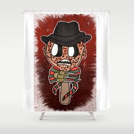 1, 2, Freddy's Coming for you Shower Curtain