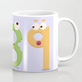 Seven, Ate, Nine Coffee Mug