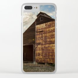 Grain Elevator 4 Clear iPhone Case