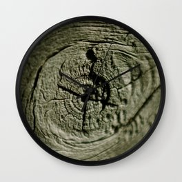 Nothing but wood! Wall Clock