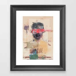 The villain Framed Art Print