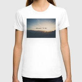 collect moments // not things T-shirt