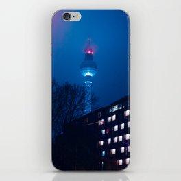 Berlin TV Tower at Night iPhone Skin