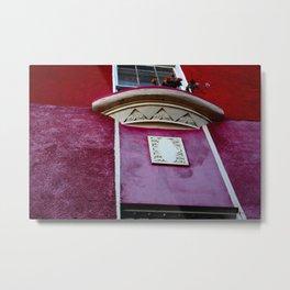 Valpo Window Metal Print