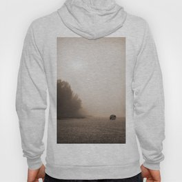 Alone at the beach Hoody