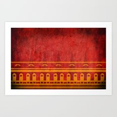 Journey Pattern Art Print
