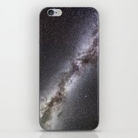 milky way iPhone & iPod Skins featuring Milky Way by Space99