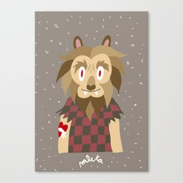 Aoowwwhh..!! Canvas Print