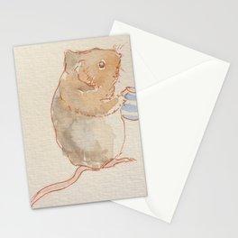 Little mouser holding a jug - Beatrix Potter Stationery Cards