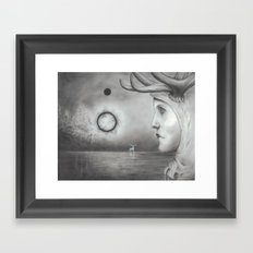 Seeing Signs Framed Art Print
