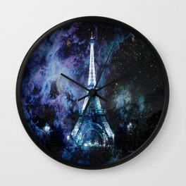 Paris dreams Wall Clock