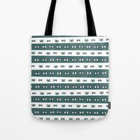 haikyuu Tote Bags featuring Haikyuu!! Date Tech Bows by InkyThoughts