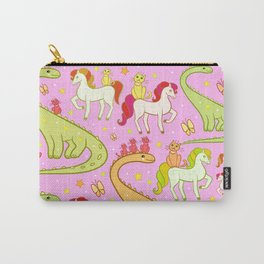 dinosaur horse cat Carry-All Pouch
