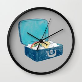 Always bring your own sunshine Wall Clock