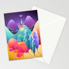 To The Moon Alice Stationery Cards