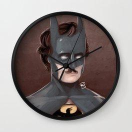 BatPoe Wall Clock