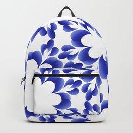Ornament blue Backpack