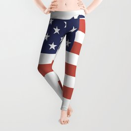 Bichon-Frise-tshirt,-patriotic-Bichon-Frise Leggings