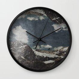 Glacial Shift Wall Clock