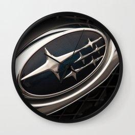 Subaru Logo Wall Clock