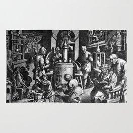 Alchemical Laboratory Rug