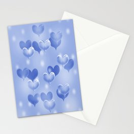 sweethearts blue Stationery Cards