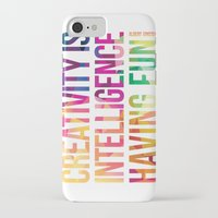 creativity iPhone & iPod Cases featuring Creativity  by DesignByDerek