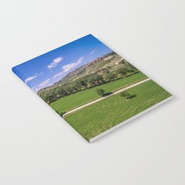 Green Fields of Abruzzo Notebook