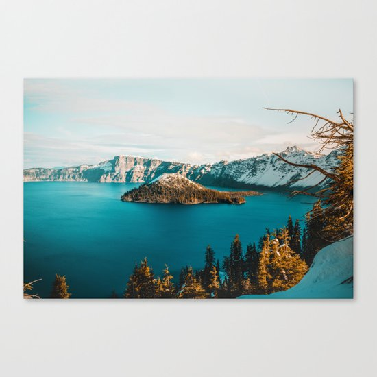Surrounded By Her Canvas Print