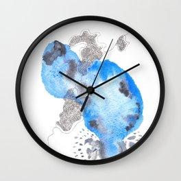 Scandi Micron Art Design   170412 Telomeres Healing 19 Wall Clock