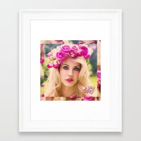 video games Framed Art Prints featuring VIDEO GAMES by Ghetto Baby