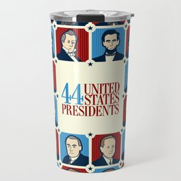 44 U.S. Presidents Travel Mug