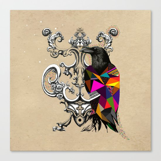 RAVEN COLOR  Canvas Print