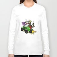 jeep Long Sleeve T-shirts featuring Jeep Creep by CreepWerks