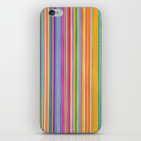 STRIPES10 iPhone & iPod Skin