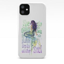 Mermaid : Profound Depths iPhone Case