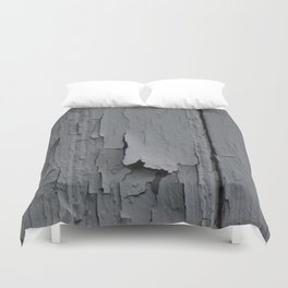 Aging Wall Duvet Cover