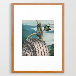 #101 Framed Art Print
