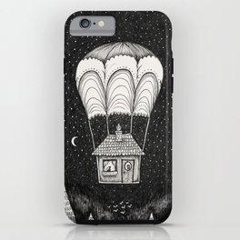 midnight journey iPhone Case