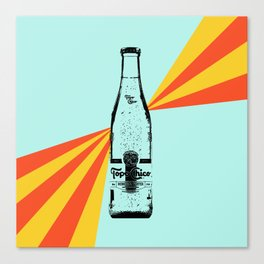 Topo Chico Retro Pop Art Canvas Print