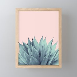Agave Vibes #12 #tropical #decor #art #society6 Framed Mini Art Print